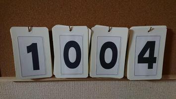 『千羽鶴』改め1004羽鶴