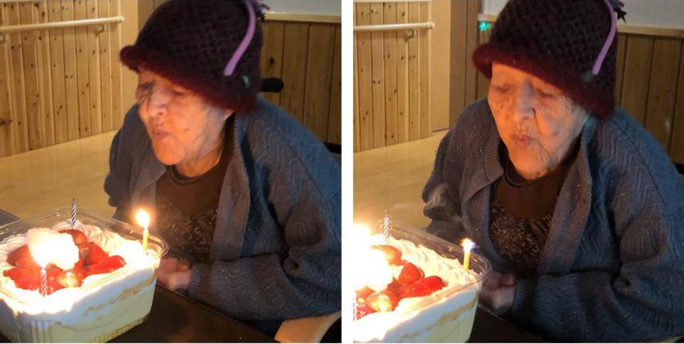 103歳の誕生日祝い